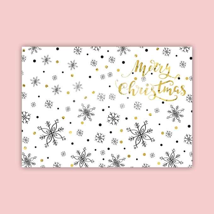 Christmas Card Template Ready to Print