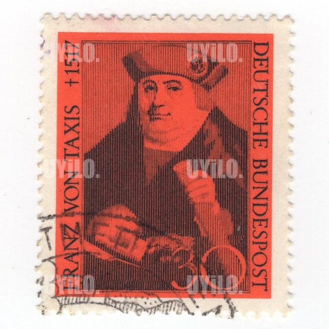Postage Stamp 30 Deutsche Bundespost Franz von Taxis