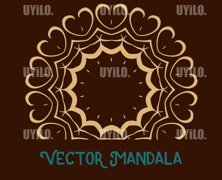 Vector Mandala 10, Instant Download