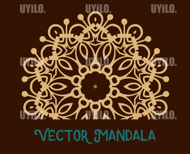 Vector Mandala 20, Instant Download