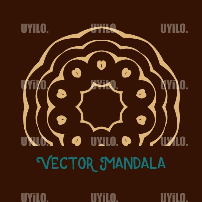 Vector Mandala 29, Instant Download