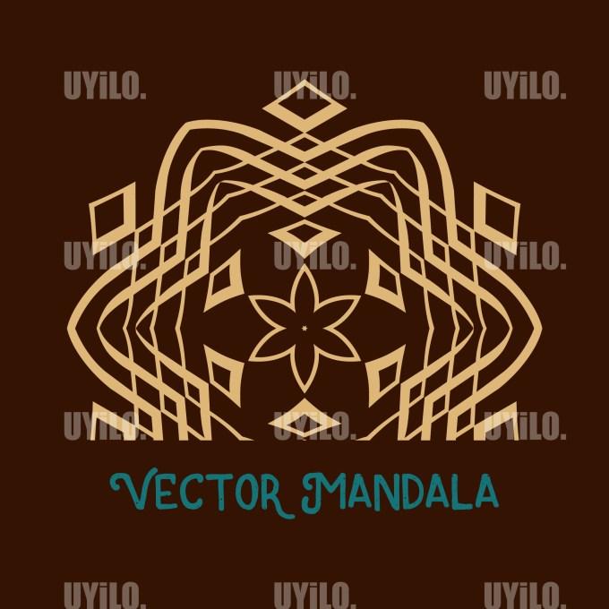 Vector Mandala 36, Instant Download