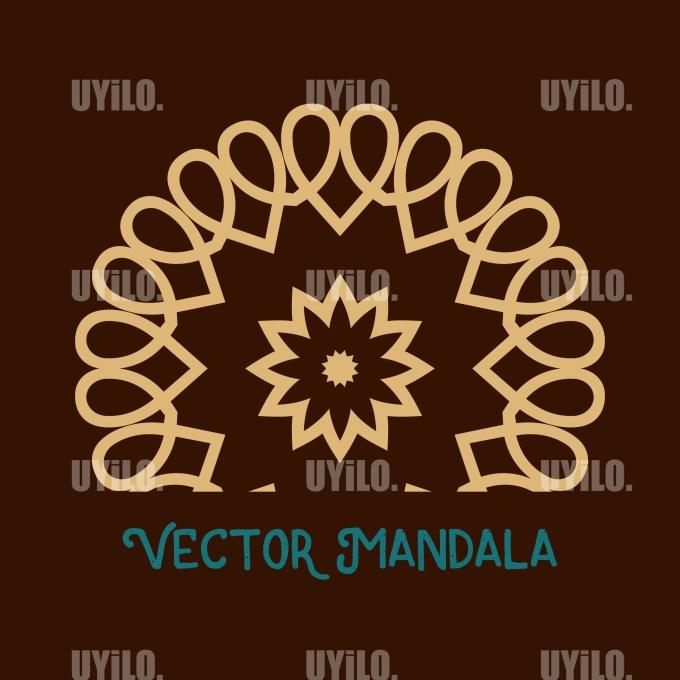 Vector Mandala 53, Instant Download