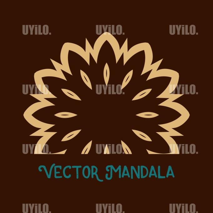 Vector Mandala 58, Instant Download