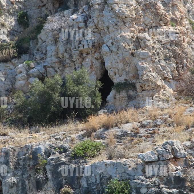 Lake Vouliagmeni, Attica Greece, Rock