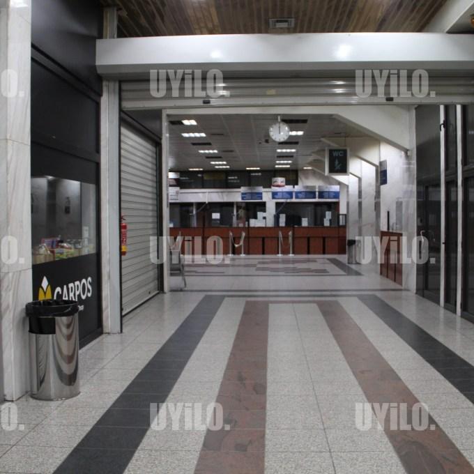 Thessaloniki Greece Bus Station in Coronavirus Time
