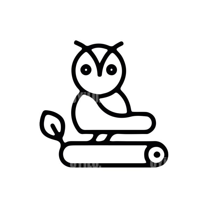 Owl Logo -14 Animals