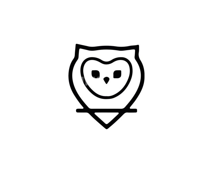 Owl Logo -9 Animals