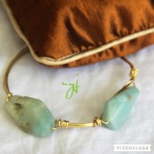 amazonite-gold-wire