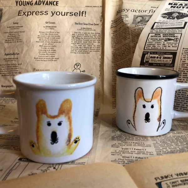 MR.Corgi HugMug