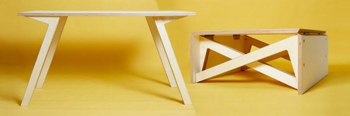 Складной кофейный обеденный стол