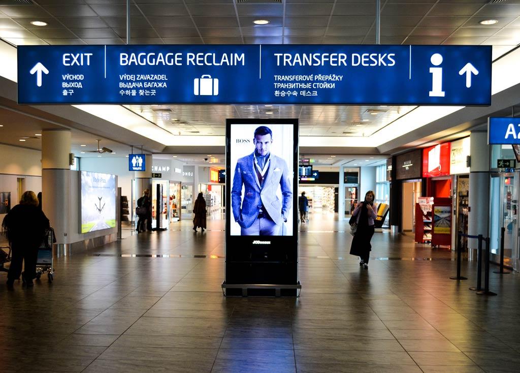 Прага. Аэропорт. Терминал 1
