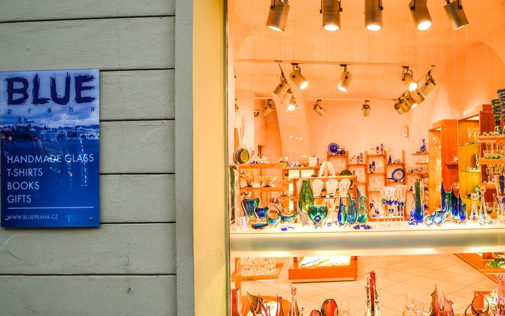Магазин «Blue Praha»