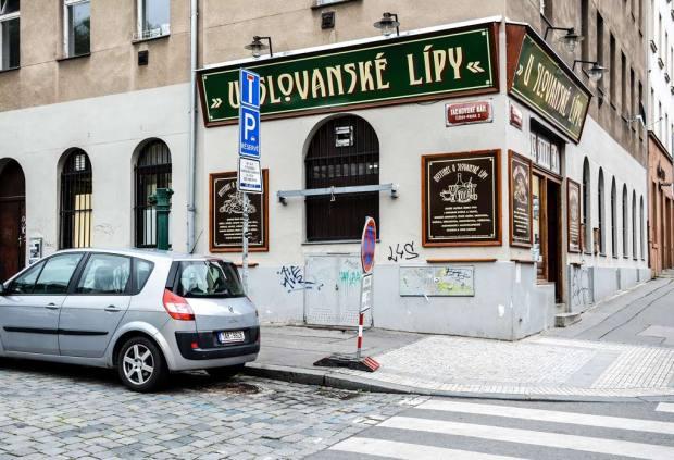 Пивные Праги. Пивной ресторан «U Slovanské lípy»