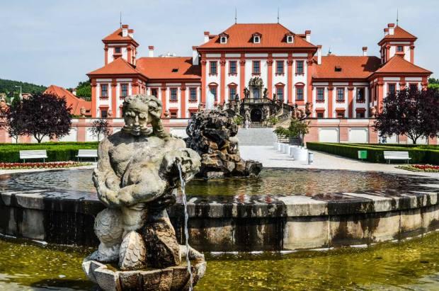Прага 7. Тройский замок