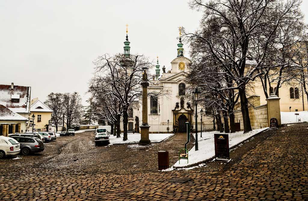 Страговский монастырь в Праге. Костёл Вознесения Девы Марии