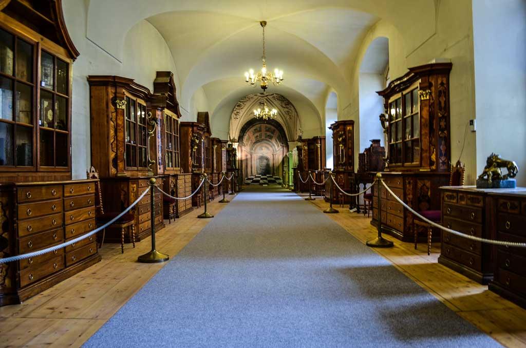 библиотека страговского монастыря в праге