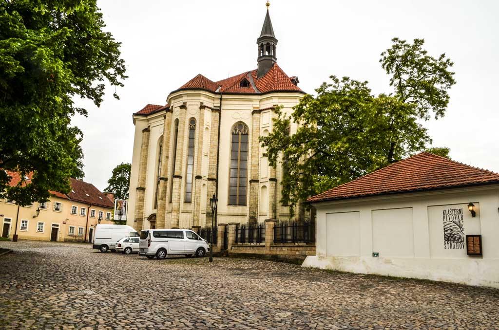 Страговский монастырь в Праге. Костёл Святого Роха