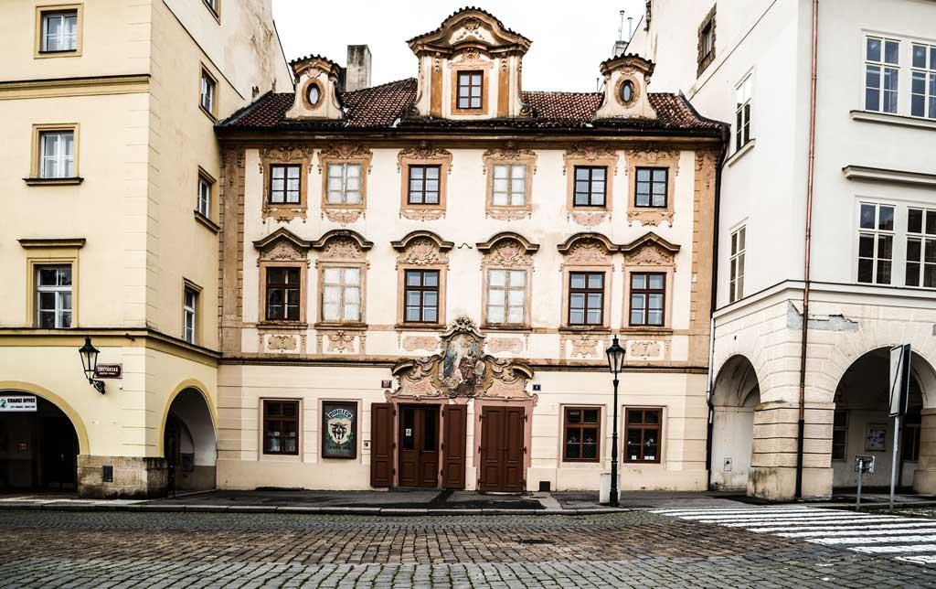 Прага. Градчаны. Пивная у черного вола