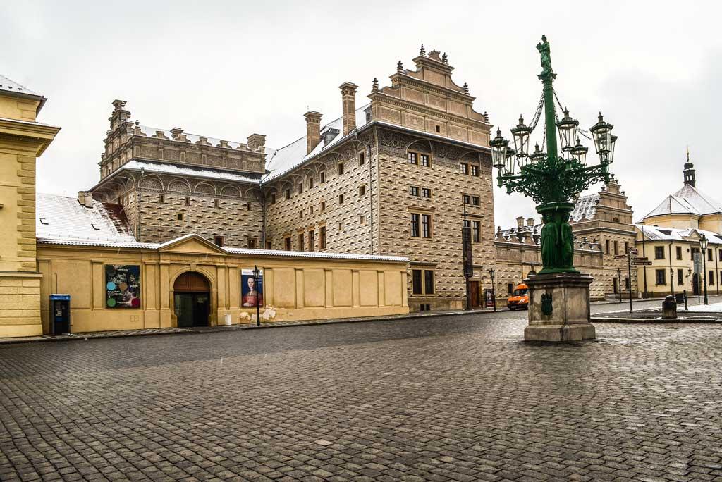 Градчанская площадь. Шварценбергский дворец