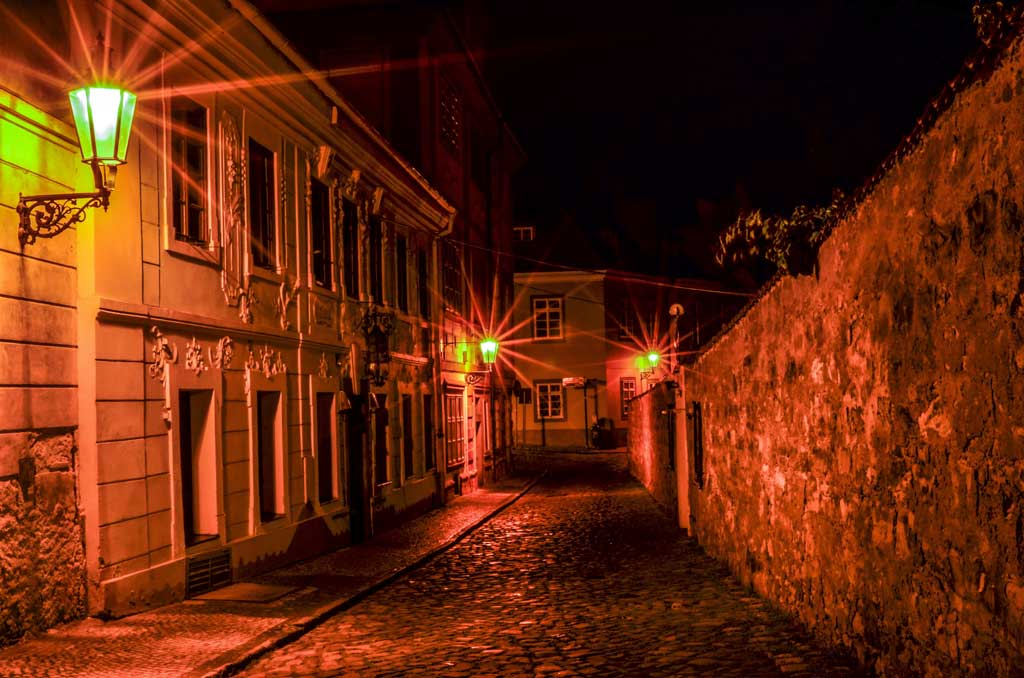 Градчаны в Праге. Улица Новый Свет