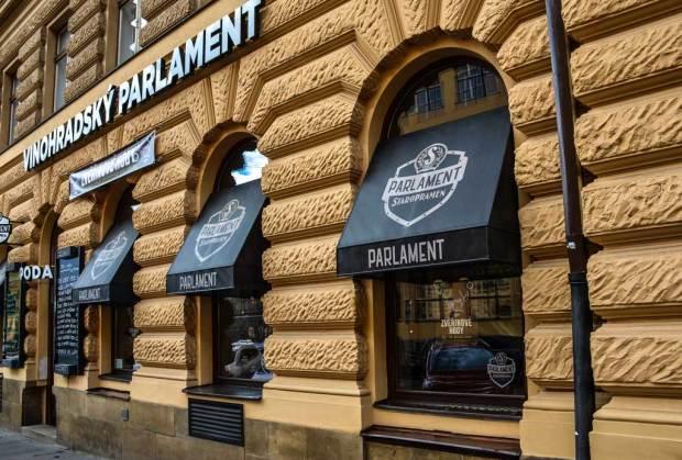 Пивной маршрут по Праге. Пивной ресторан «Vinohradský parlament»
