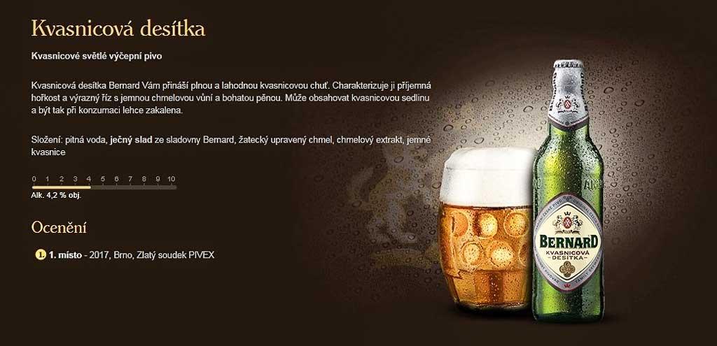 Чешское пиво. Kvasnicová desitka