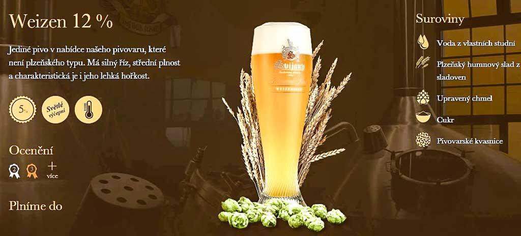 Чешское пиво. «Weizen 12°» пивовара «Свияны»