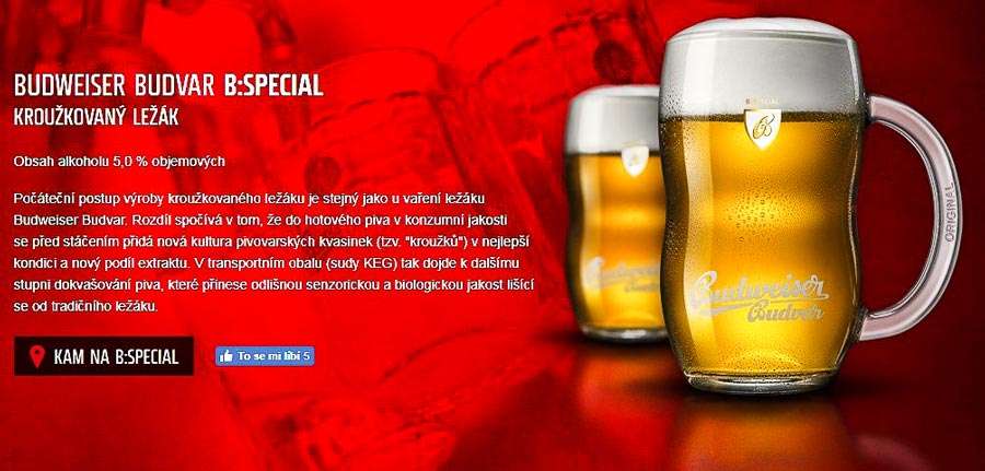 Чешское пиво. Budweiser Budvar kroužkovaný ležák 12°
