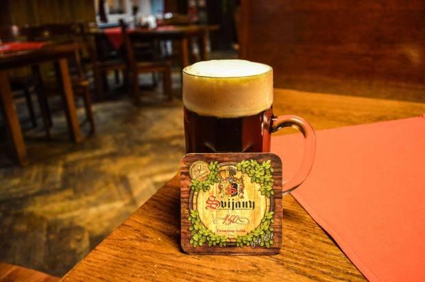 Чешское пиво. Классификация. Тёмное специальное пиво низового брожения «Svijanská Kněžna 13°»