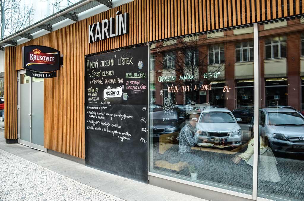 Пивные рестораны Праги.Restaurace «Krušovická Šalanda»