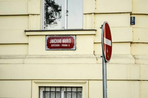 Прага-5. Смихов. Набережная Яначково