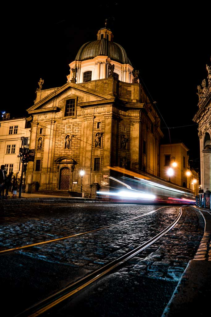 Прага. Церковь Св. Николая
