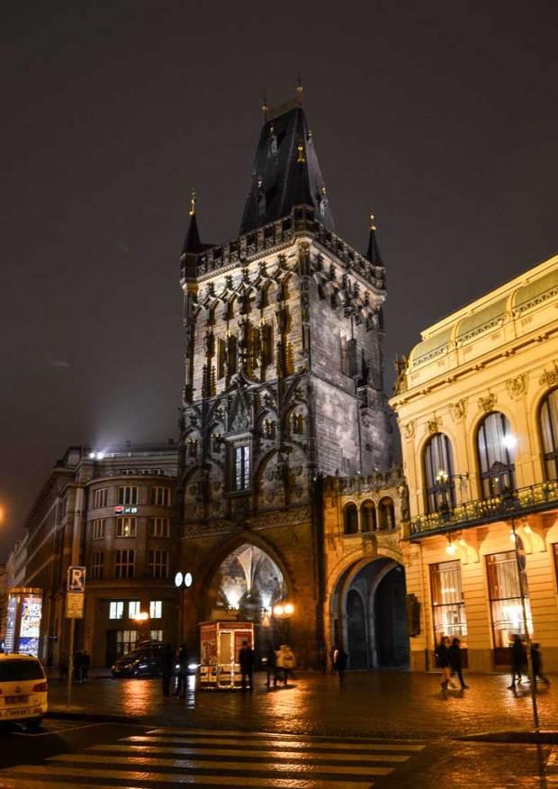 Прага. Пороховая башня