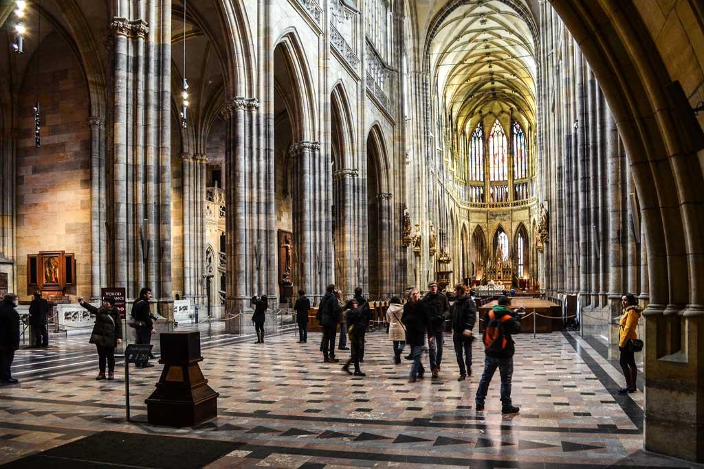 Интерьер собора Св. Вита