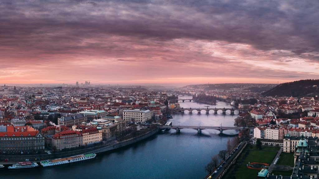 Прага за один день