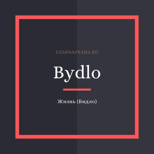 По-чешски жизнь — Bydlo