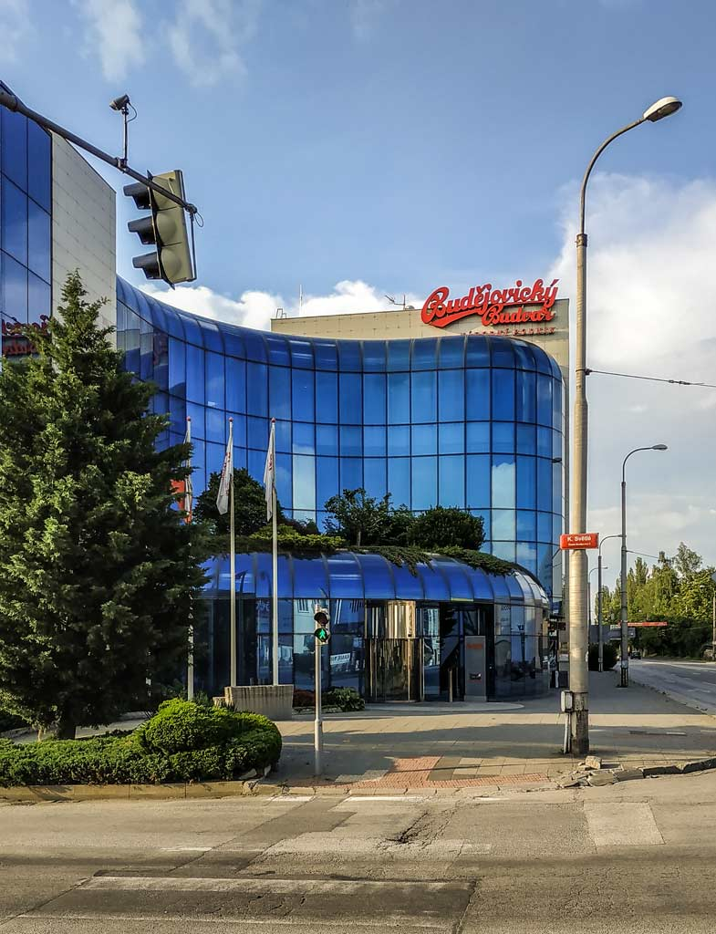 Ческе-Будеёвице. Пивоваренный завод «Budějovický Budvar»
