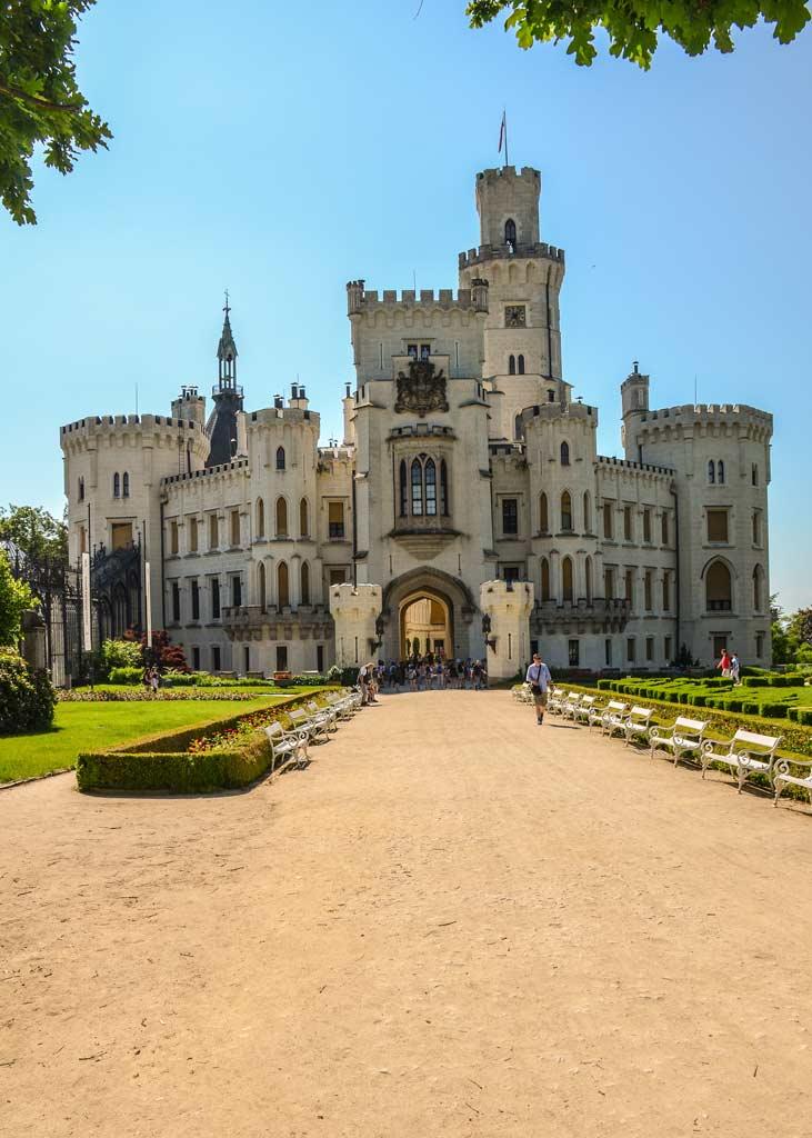 Замок Глубока-над-Влтавой. Южночешский край. Богемия
