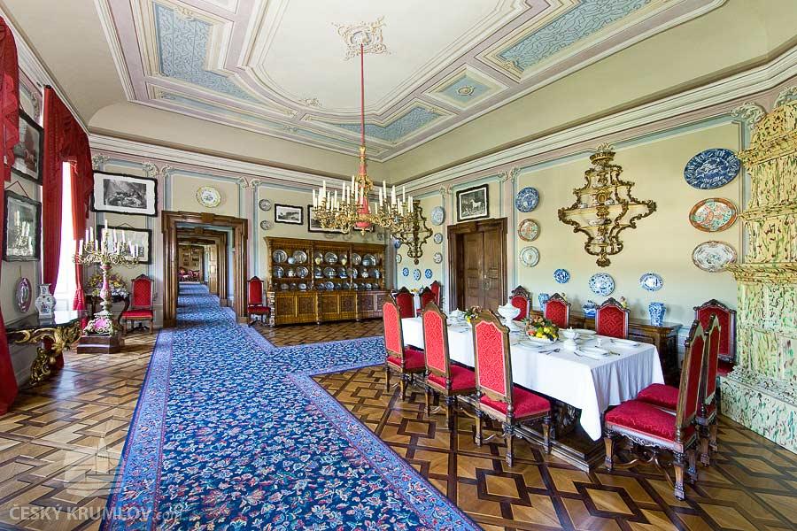 Замок Чески-Крумлов. Малая столовая