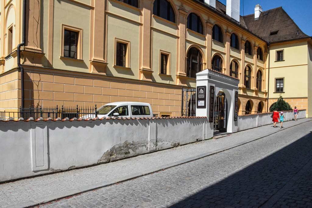 Чески-Крумлов. Краеведческий музей
