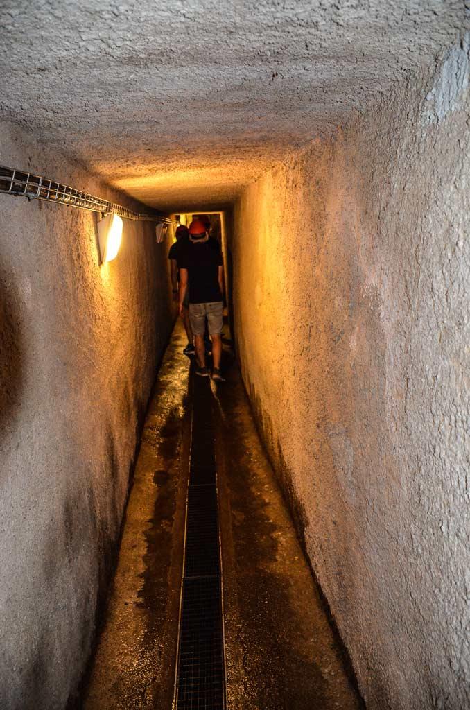 Пльзень. Катакомбы исторического подземелья