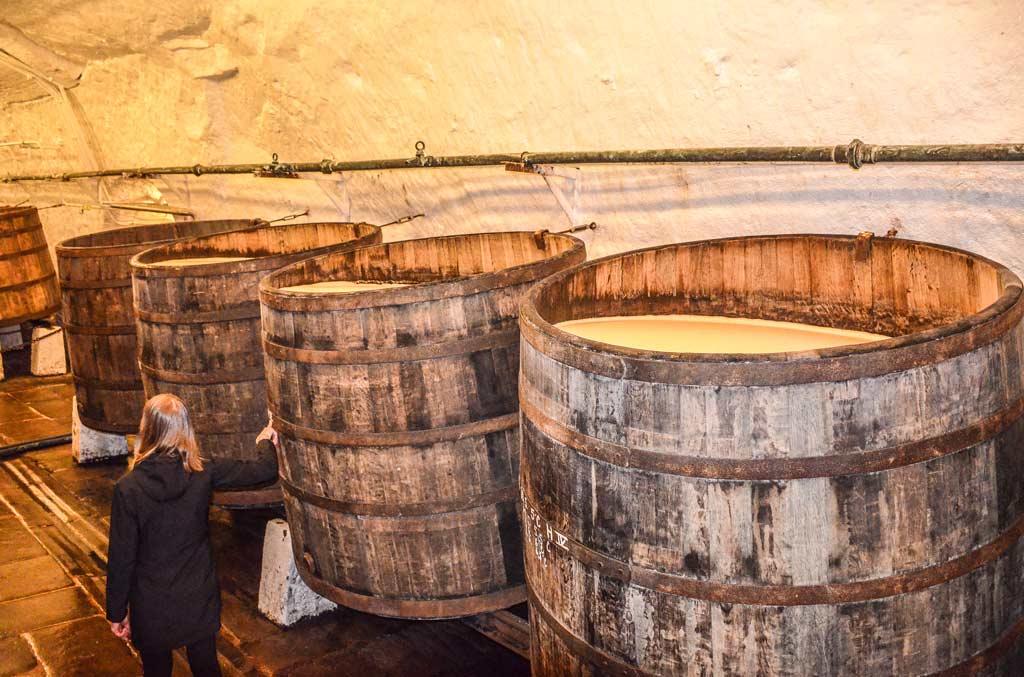 Пльзень. Исторические пивоваренные подвалы завода
