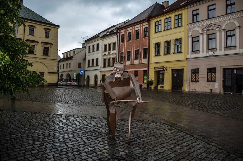 Малая площадь в Градец-Кралове