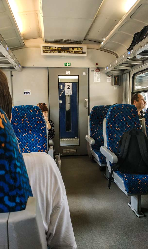 Вагон 2-го класса Чешских железных дорог