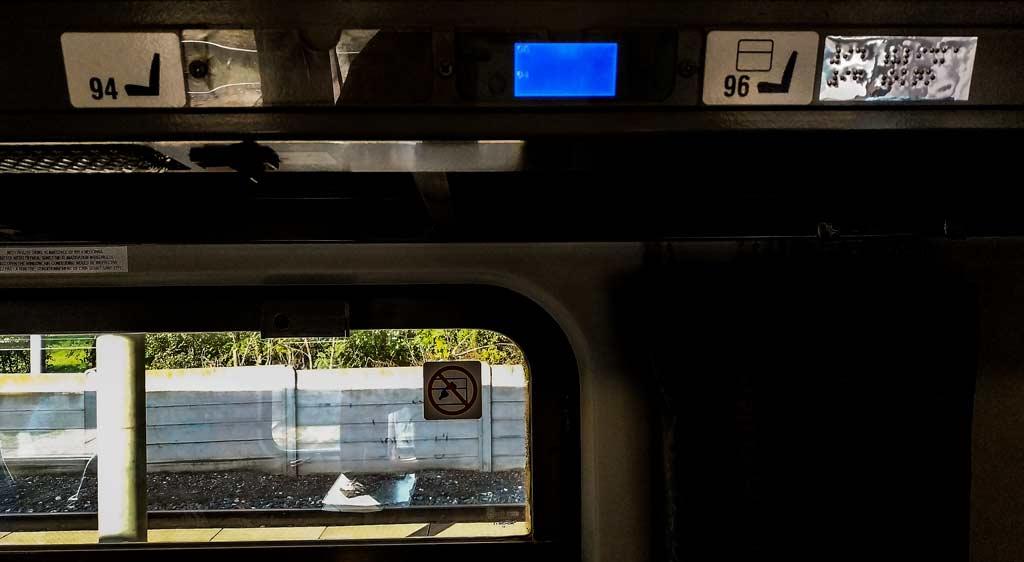 Свободные места в экспрессе Чешских железных дорог