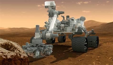 Mars Robotu Curiosity'nin Bilgisayarında Sorun