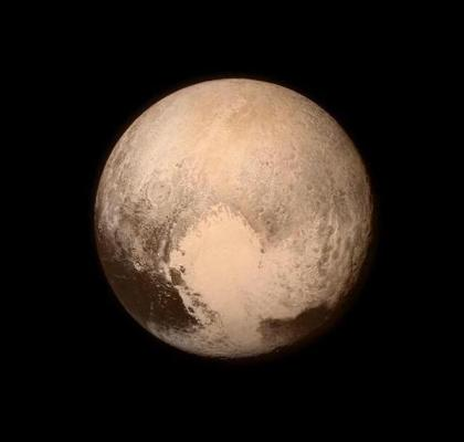 Pluto'nun yeni fotoğrafı