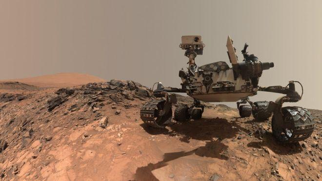 ABD Havacılık ve Uzay dairesinin (NASA) 2012'den bu yana Mars'ta bulunan aracı Curiosity (Merak) bugüne kadarki en detaylı Mars fotoğraflarını merkeze gönderdi.