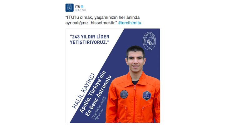 Sahte Astronot Halil Kayıkcı Uzayorg
